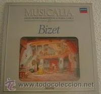 Bizet, Georges (1838-1875) Bizet [Grabación sonora] Georges Bizet. Madrid: Salvat, 1986