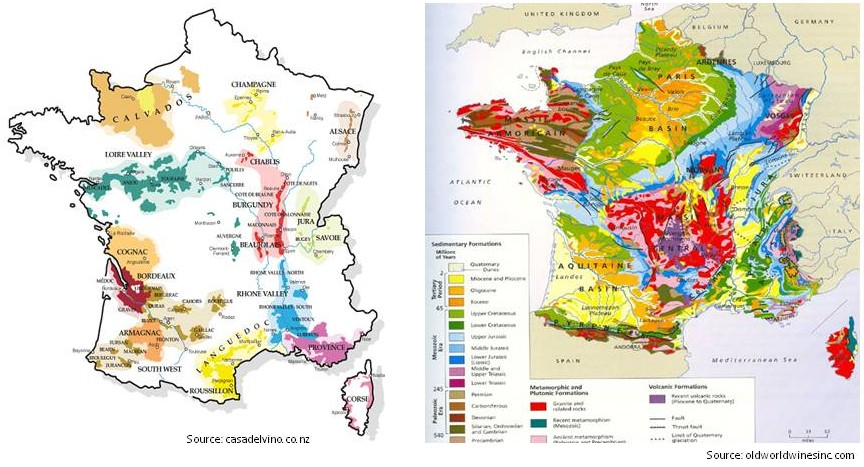 Wine mise en abyme may 2013 for Champagne region in france