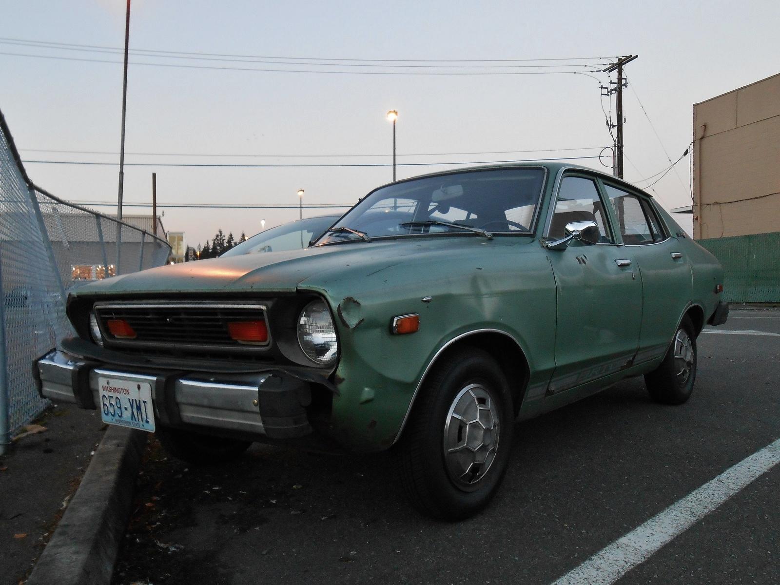 seattle s parked cars 1978 datsun b210