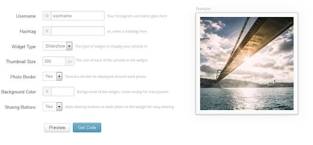 Cara Mudah Memasang Widget Instagram di Blog