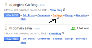 setting domain blogspot di namecheap