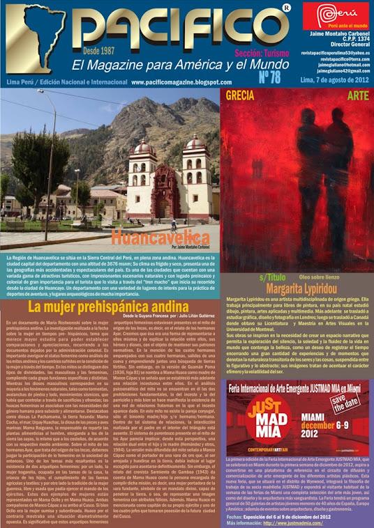 Revista Pacífico Nº 78 Turismo