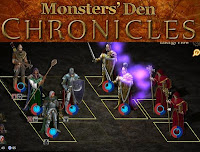 Monsters Den Chronicles walkthrough.
