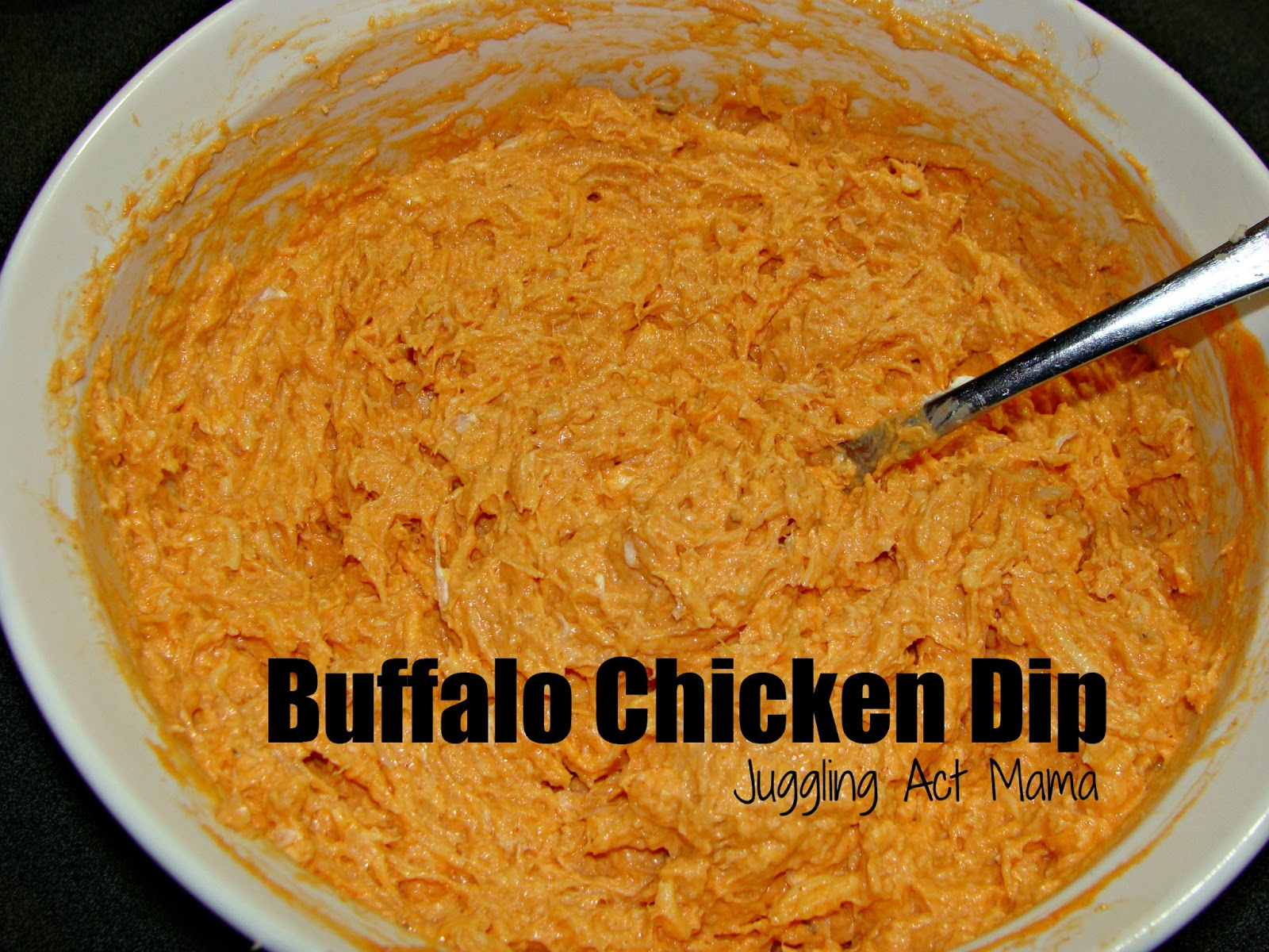 Make Ahead Buffalo Chicken Dip via Juggling Act Mama