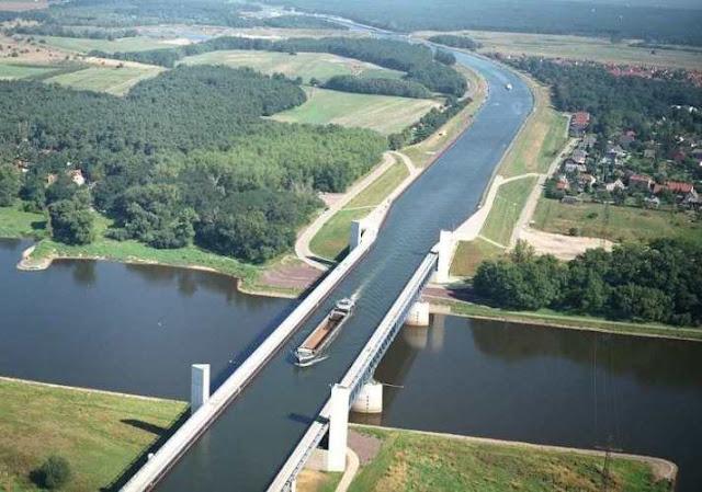 Jembatan Air Paling Mengesankan di Dunia