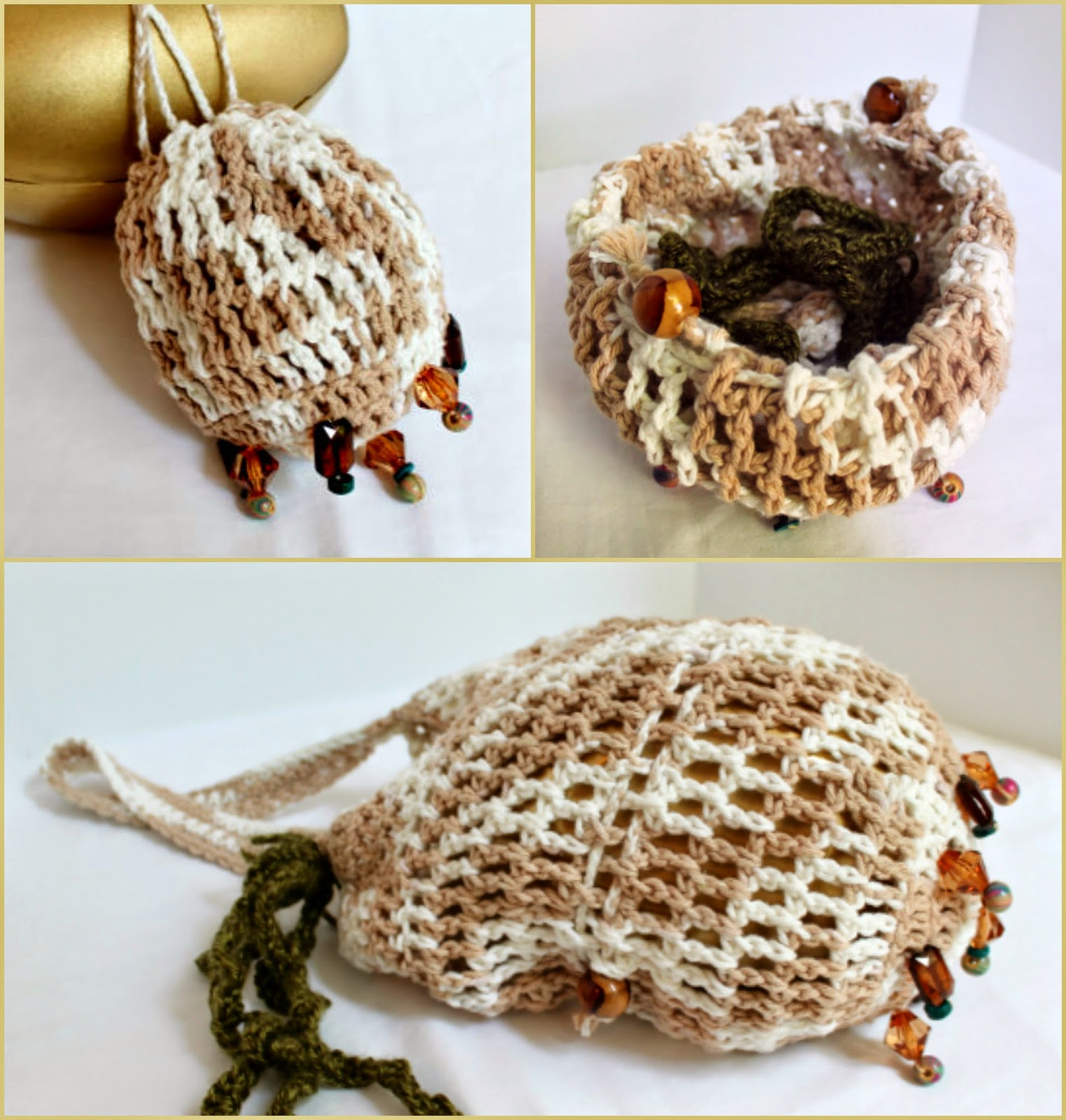 Harry Potter-Inspired Extendable Beaded Crochet Bag for CraftingCon | The Inspired Wren