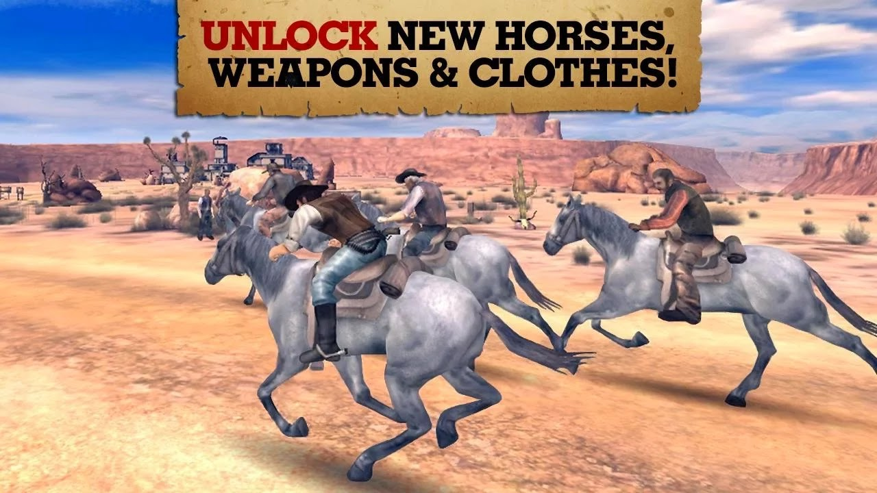 Six-Guns v2.6.1a Mod [Unlimited Money]