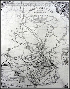Mapa del Ramal ferroviario de la República Argentina año 1910. en 1/22/2013 ferrocarriles de la repãºblica argentina aã±o