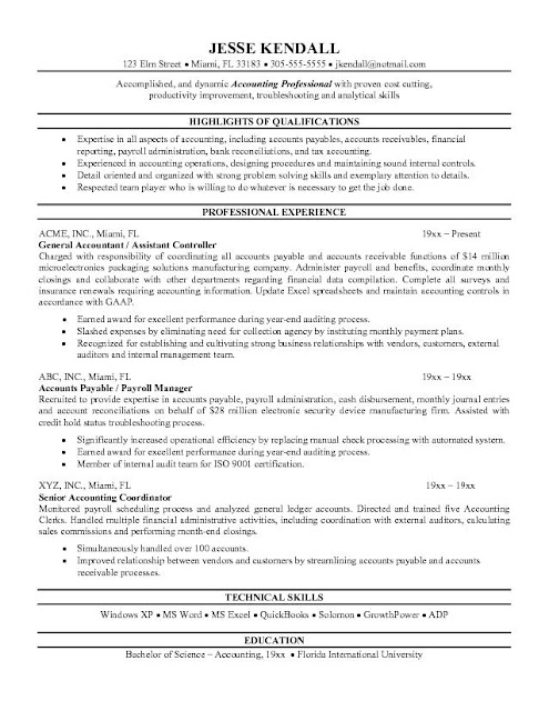 Accountant Resume4