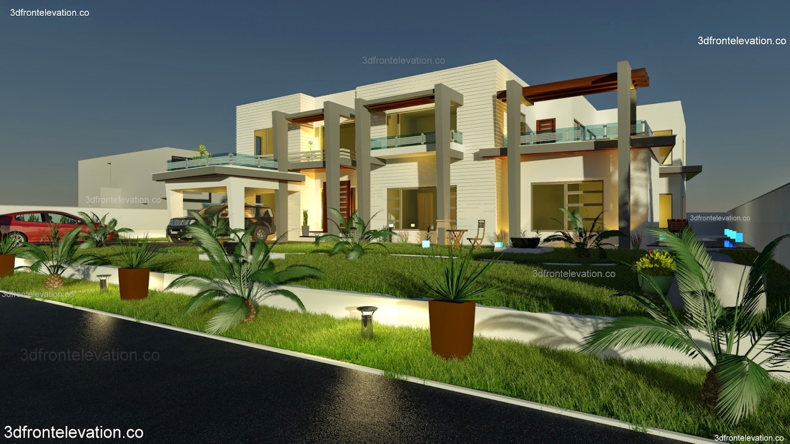 Front Elevation Of House In Karachi : House plans and design architectural of houses in