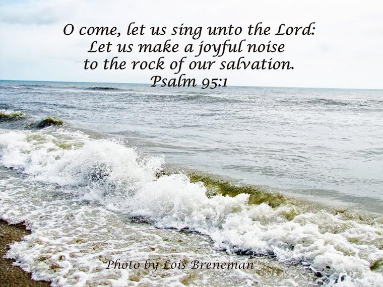 Ocean - Psalm 95:1