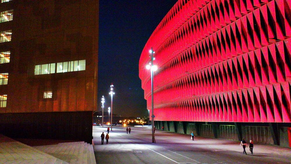 Planeta Bilbao,San Mamés,cubierta,Athletic