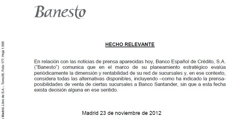 Ugt banco santander catalunya banesto estudia la venta de for Oficinas banco santander en barcelona