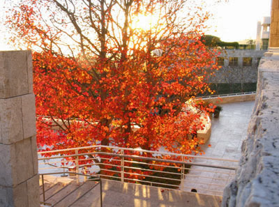 Los Angeles: Tramonto al Paul Getty Center