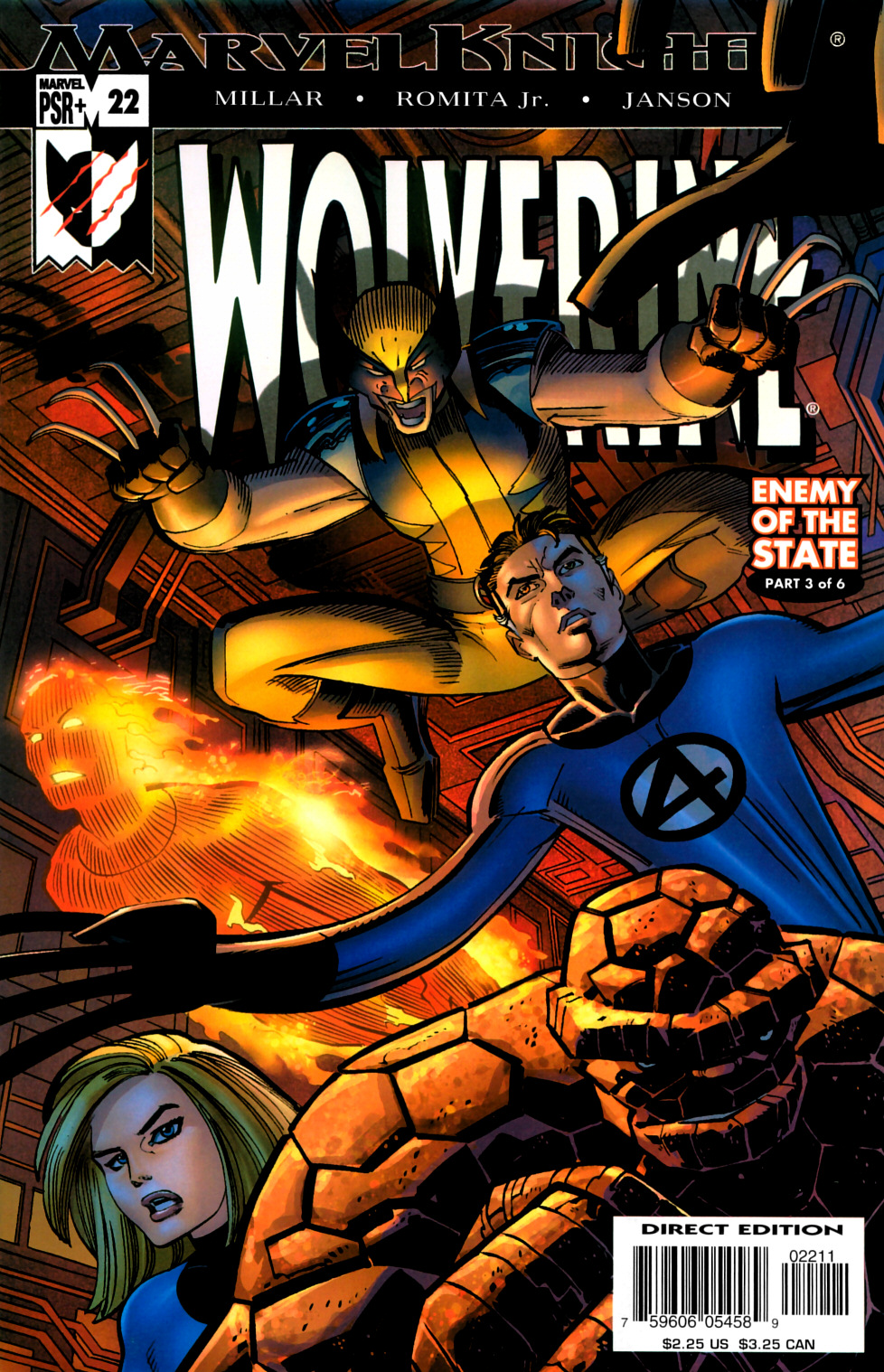 Read online Wolverine (2003) comic -  Issue #22 - 1