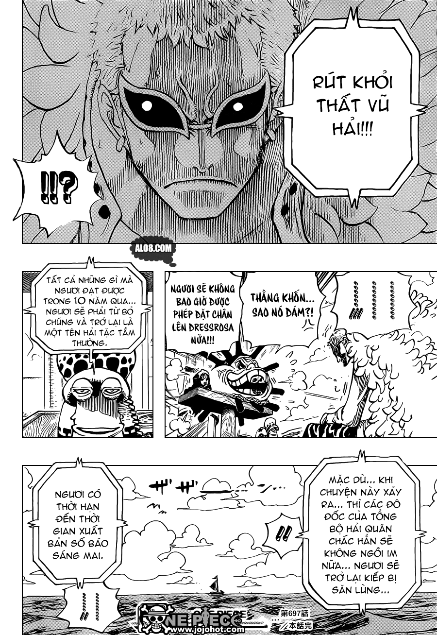 One Piece Chapter 697: Thỏa thuận 018