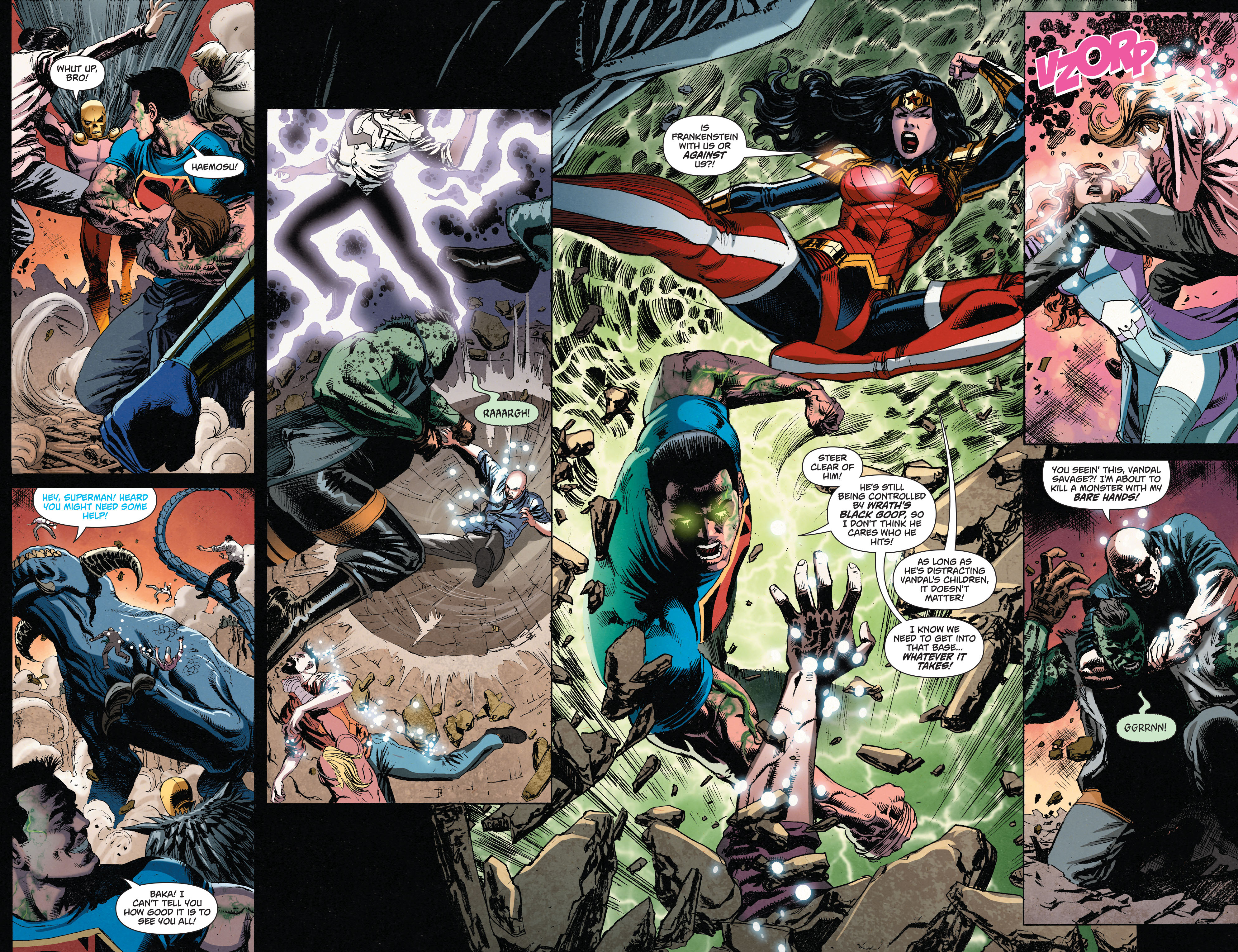 Read online Superman (2011) comic -  Issue #49 - 17