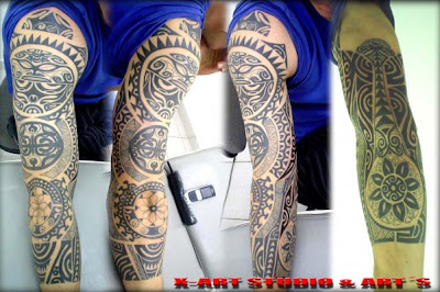 Tatoos Maori Full Arm