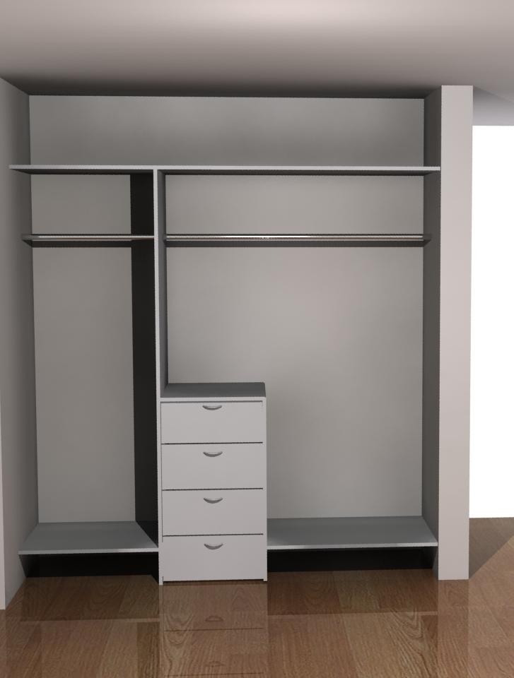 Akire design closets for Puerta walking closet