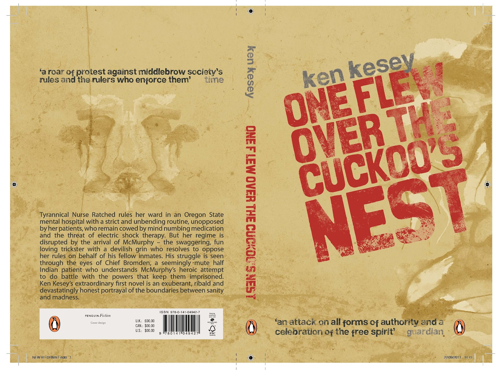 an analysis of chief bromdens character in one flew over the cuckoos nest a novel by ken kesey The narrator of the novel is chief characters, and a full summary and analysis provide critical analysis of one flew over the cuckoo's nest by ken kesey.
