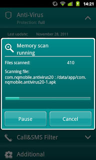 Kaspersky Mobile Security for android