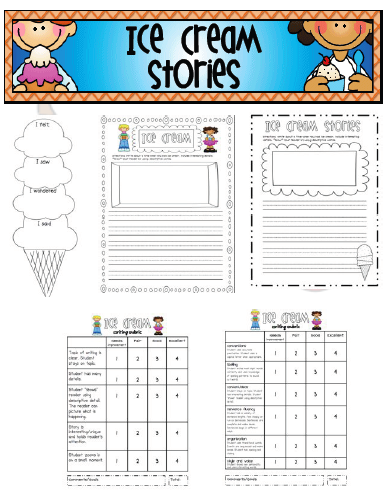 narrative writing rubric 2nd grade
