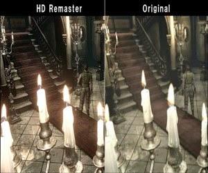 Os dois Resident Evil sendo comparados