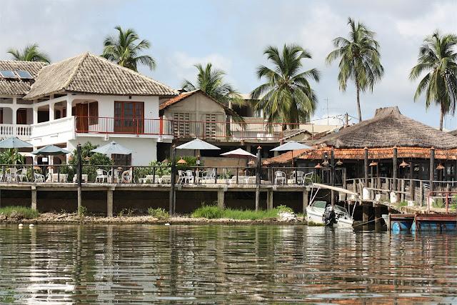 Navegando por el Casamance hacia la isla de Djilapao