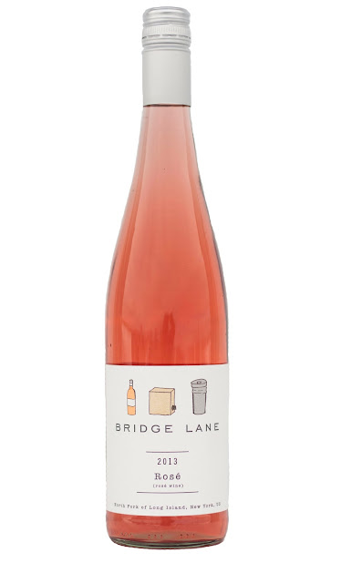 Bridge Lane Rose Wine Bottle