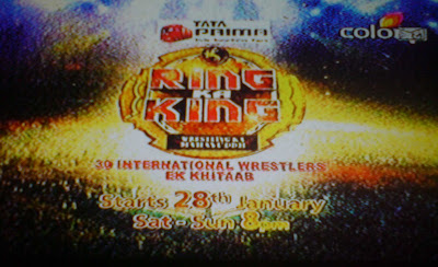 Ring Ka King on Colors TV