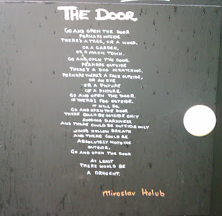 the door by miroslav holub Miroslav holub (september 13, 1923 – july 14, 1998) was a czech poet and immunologist the door miroslav holub go and open the door maybe outside there's.