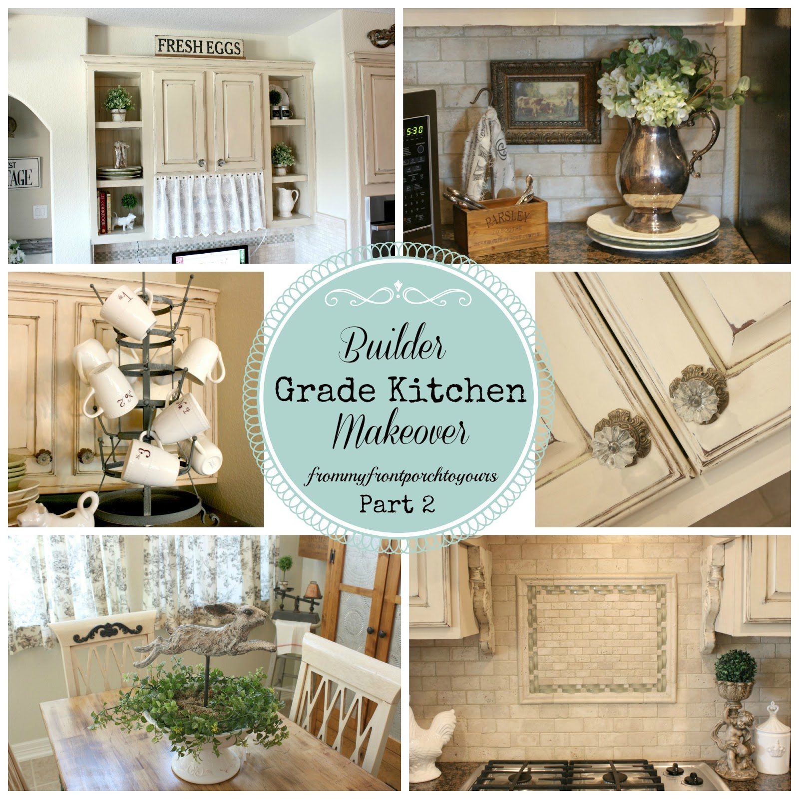 From My Front Porch To Yours: DIY French Farmhouse Kitchen Makeover