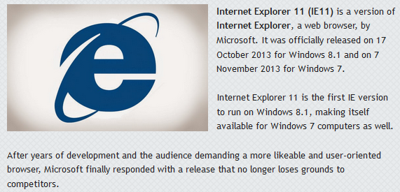 Internet Explorer Latest Full Version Offline Installer Free Download For Windows