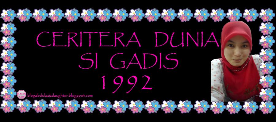Ceritera Dunia Gadis 1992