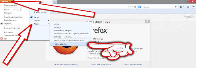 Atualizar o  Firefox