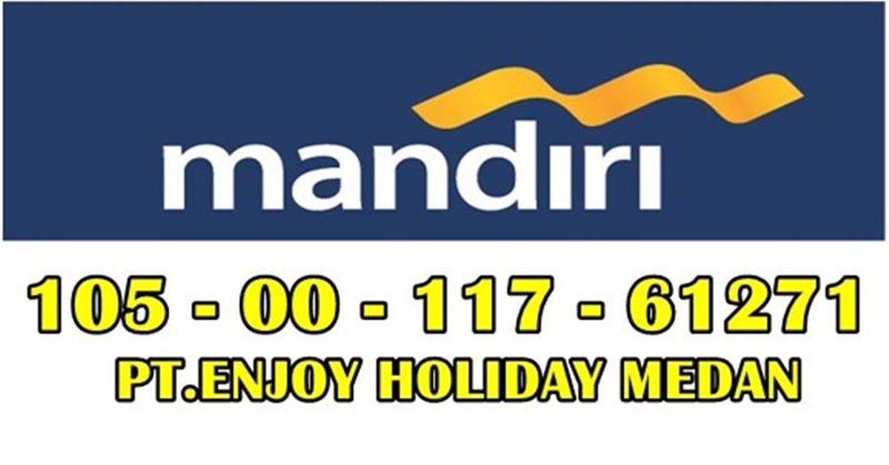 Rekening Resmi - PT.ENJOY HOLIDAY MEDAN