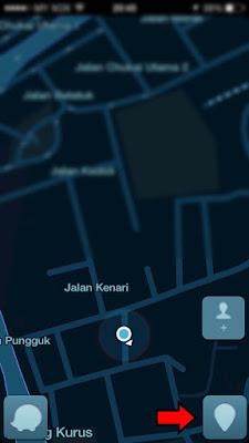 Cara Masukkan Lokasi Premis/Kedai Di Waze