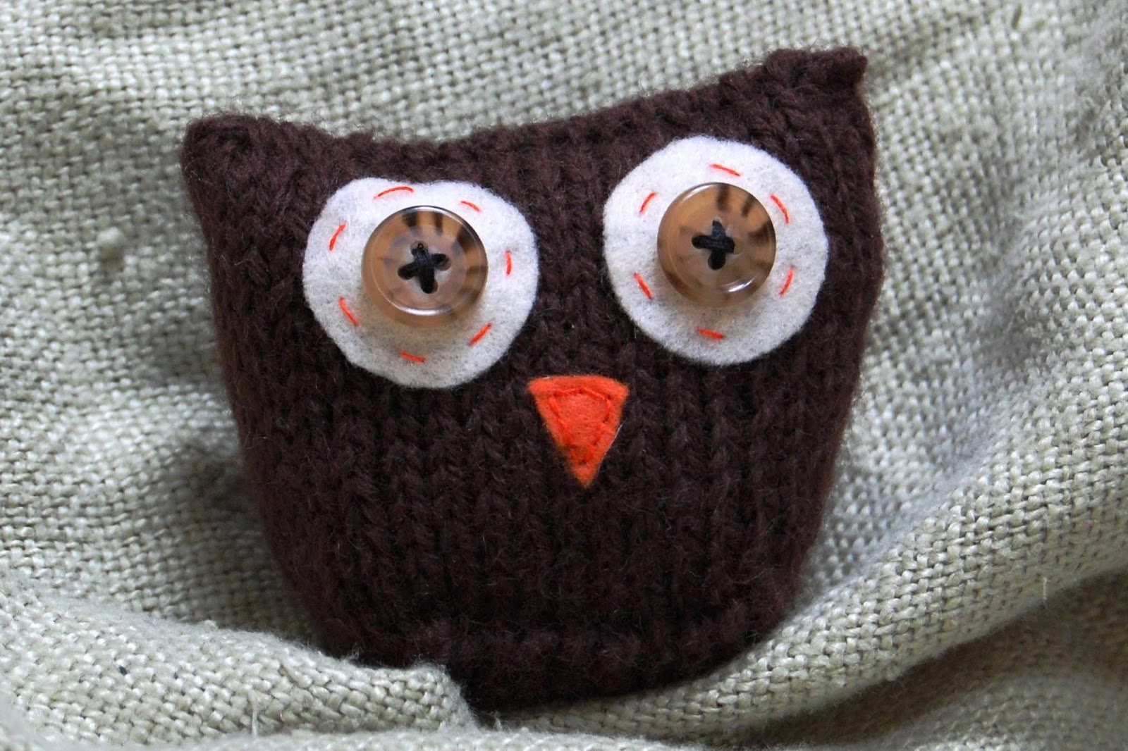 Knitting By Post Owl : More minutes owl always love you