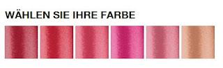 Farbauswahl Lippenstifte maybelline