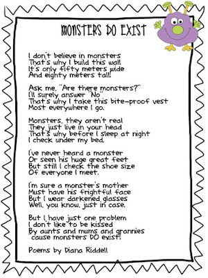 Monsters Do Exist Poem