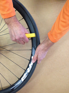 inner tube replacement on your bike