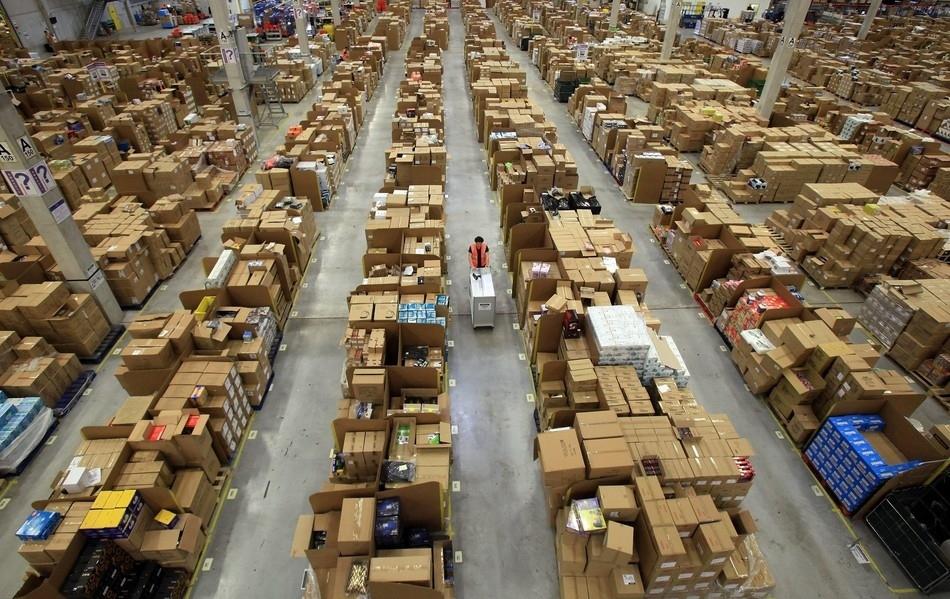 مخازن موقع أمازون للتجارة-منتهى