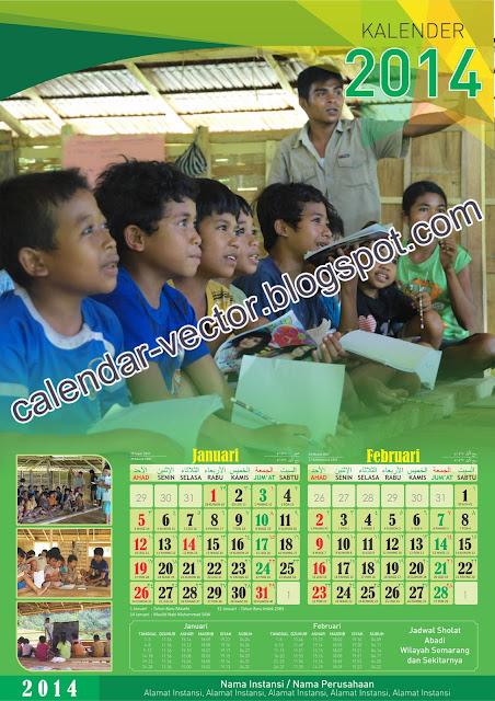Kalender 2014 eksklusif siap pakai ex-2014-01