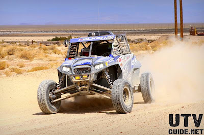 Jagged X's Matt Parks, Jason Spiess and Landon Kobruck and the No. 1932 RZR XP 4 900
