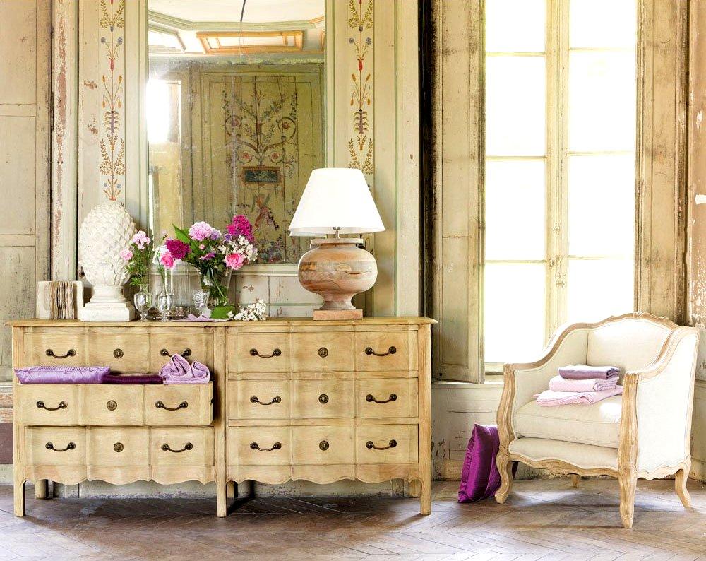 mobili bagno maison du monde boiserie c legno stile antica