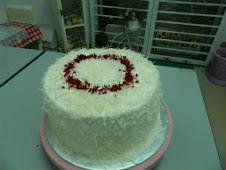Kelas DIY Red Velvet cake RM200