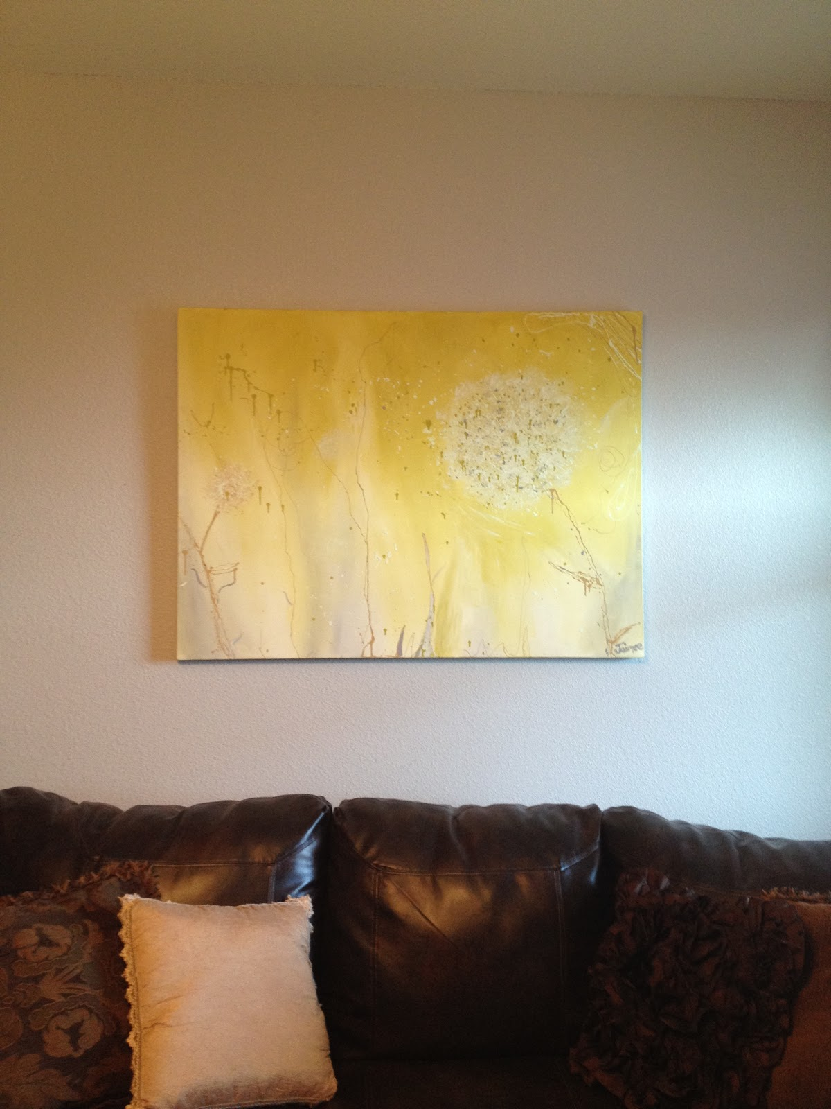 Weigle Wed and Southern Bred: DIY large scale faux frame for ...