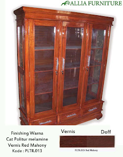 Contoh Furniture Politure Red Mahony