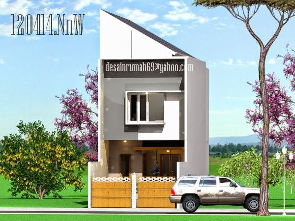 Desain Rumah Minimalis 2 Lantai Dengan Lahan Sempit