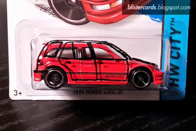 Look At My Toy Cars Look Hot Wheels Honda Civic Wagon Wagovan Ee Ey